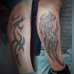 cover tetování traditional maori tribal