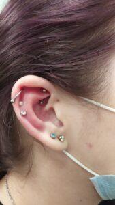 rook piercing plzeň