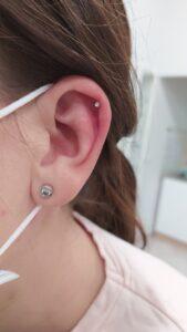 helix piercing plzeň